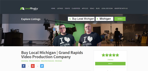 Grand Rapids Video Production Company